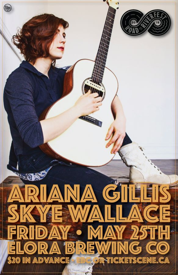 Rescheduled! Ariana Gillis at the Elora Brewing Co.
